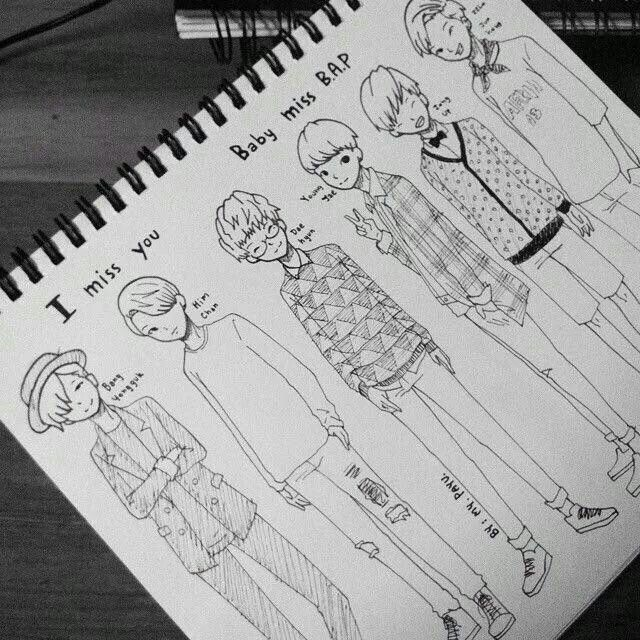 Image result for b.a.p fanart