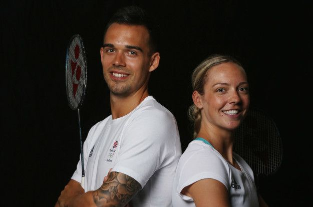 Chris and Gabby Adcock | 9 Super Adorable Couples Competing In The Rio Olympics
