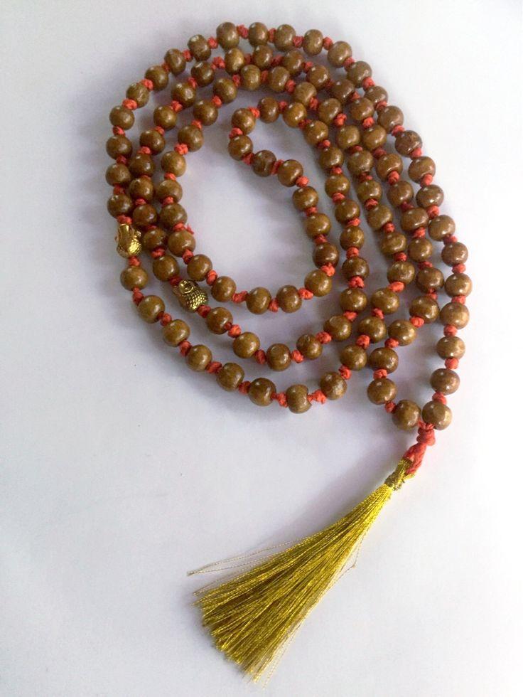 Japa Mala Gebetskette von Yogaschmuckwerkstatt auf Etsy