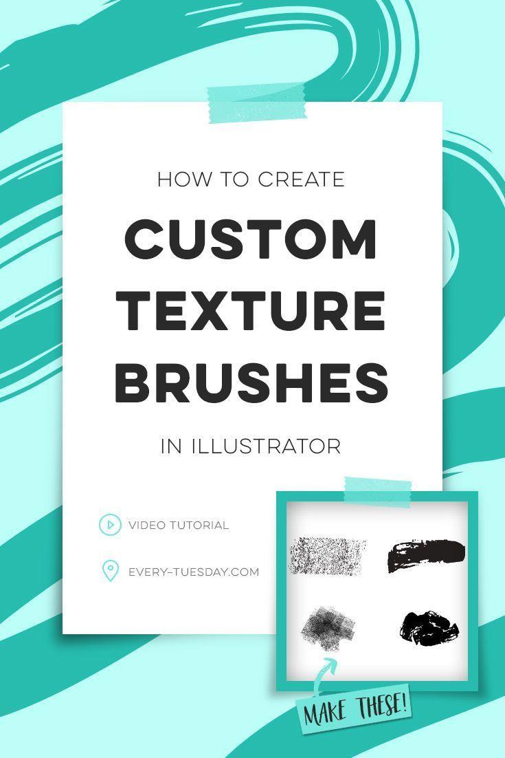 How To Create Illustrator Texture Brushes Adobe Illustrator