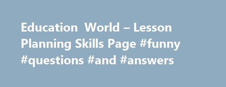 """Education World – Lesson Planning Skills Page #funny #questions #and #answers http://answer.remmont.com/education-world-lesson-planning-skills-page-funny-questions-and-answers/  #hink pink answers # HINK PINKS This activity is called """"Hink Pink"""" or """"Hinky Pinky"""" or """"Hinkety Pinkety"""" or """"Hitinkety Pitinkety."""" The explanation of the different names is part of the game. Hink pinks are one-syllable words that rhyme. You write down the """"definition"""" and the kids come up with the hink pinks. For…"""
