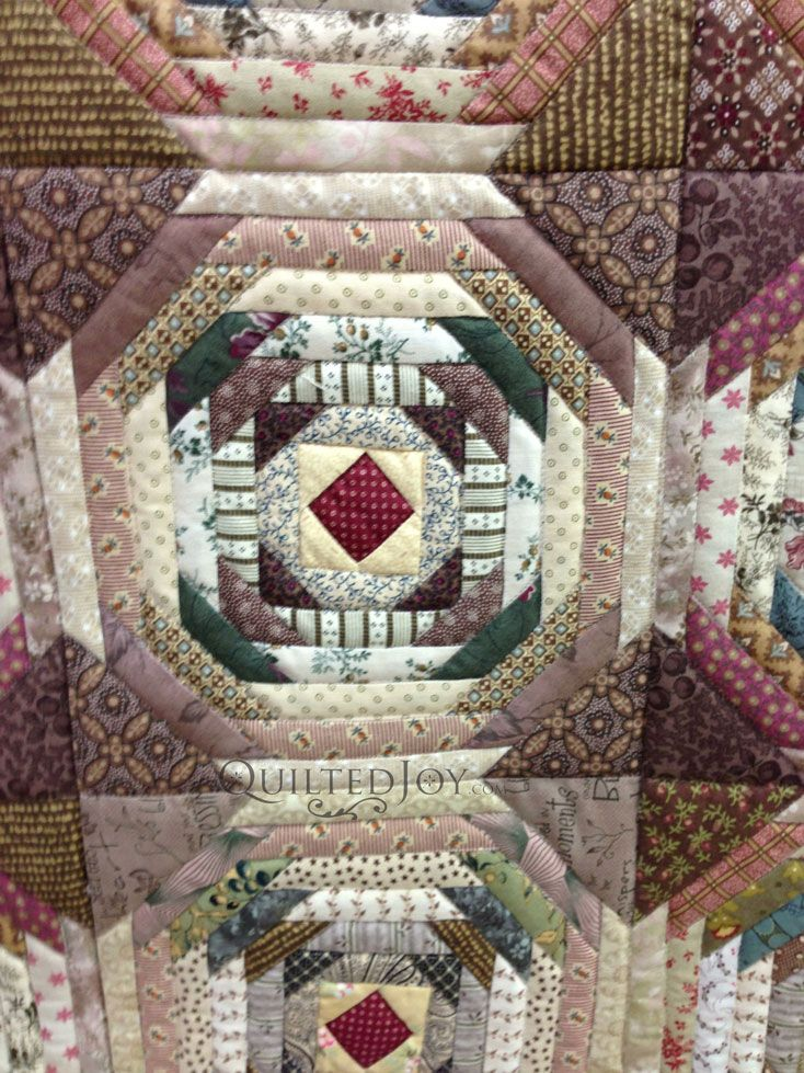 Log Cabin Quilt Pattern Free Queen Size : 1000+ images about Pineapple /QUILTS on Pinterest Blossoms, Pineapple quilt pattern and Fabrics