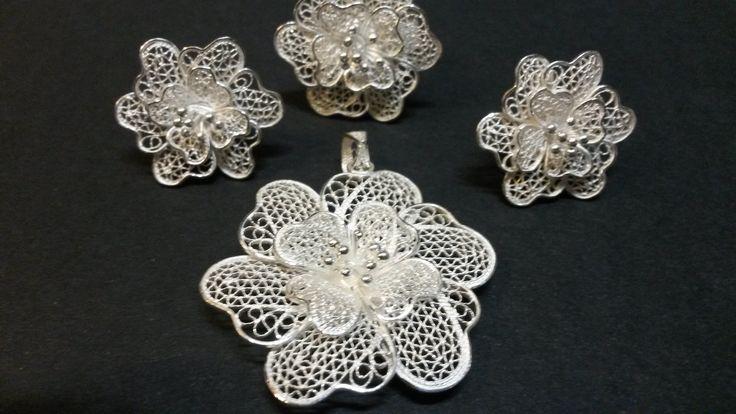 Silver.Argento.Filigrana,hand made by Aleluna