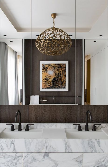 Damien Langlois-Meurinne bathroom design