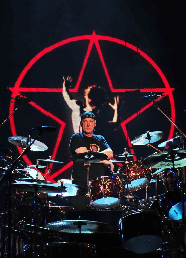 Neil Peart. The star, man. Neil Peart, drummer for Rush