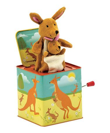 Another great find on #zulily! Kangaroo Jack-in-the-Box #zulilyfinds