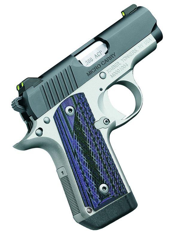 Kimber Micro Carry Advocate Purple 380 ACP Pistol - Hyatt Gun Store