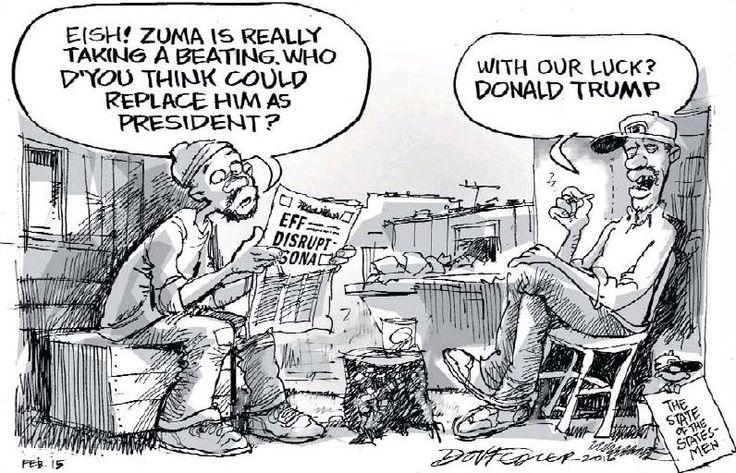 Dov Fedler ups the ante in the Zuma succession debate. The Star.