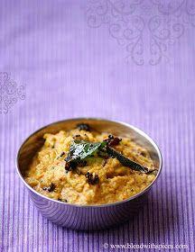 Blend with Spices: Potlakaya Nuvvula Pachadi Recipe - Snake Gourd Sesame Chutney Recipe