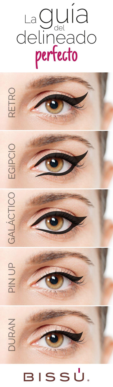 Reinventa el estilo de tu delineado. http://tiendaweb.bissu.com/ojos/