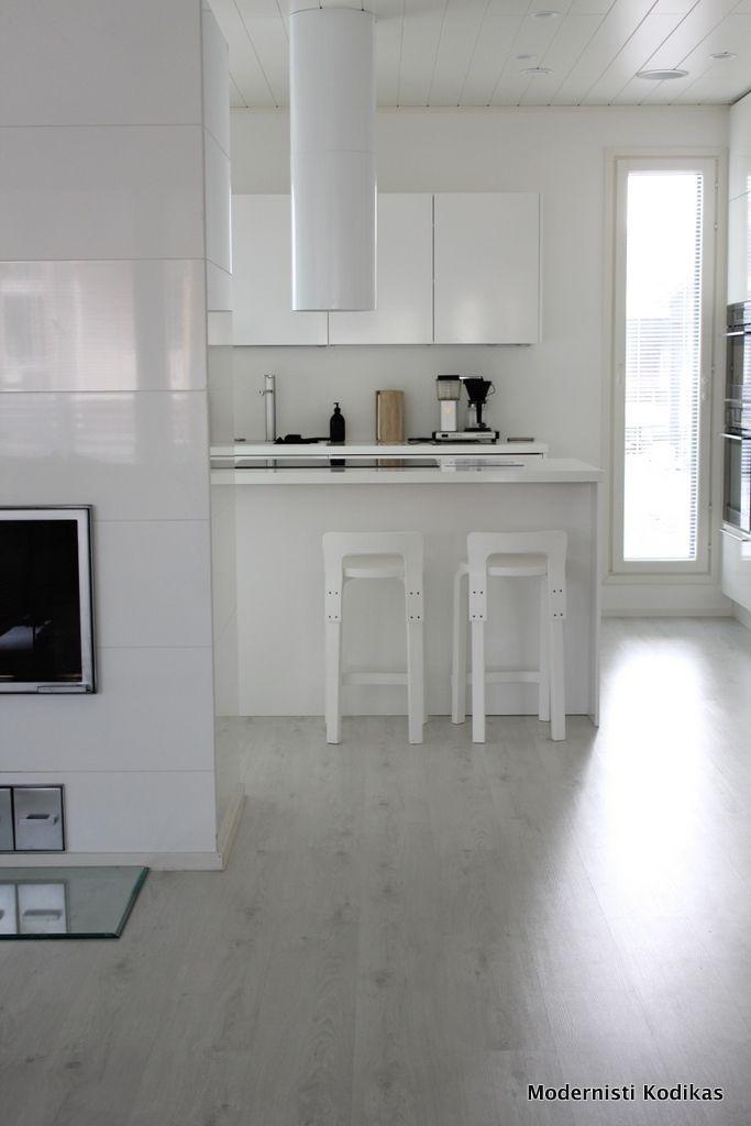 Modernisti Kodikas: Asuntomessut 2014: Kurkistus Deko159-talon sisustukseen