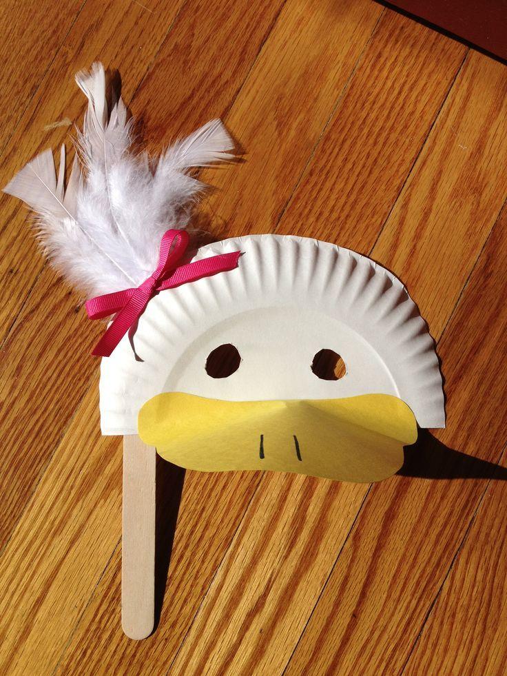 1000+ ideas about Duck Mask on Pinterest   Paper plates, Felt mask ...