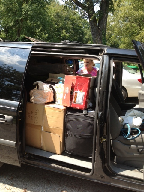5 tips for packing for college (I really don't want our van to look like this!)