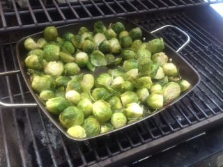 BBQ'd brussels sprouts | My board | Pinterest