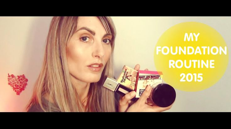 My Foundation Routine 2015 | MICHELA ismyname ♥