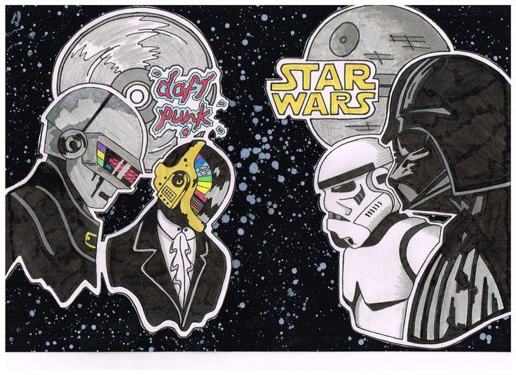 daft punk vs star wars
