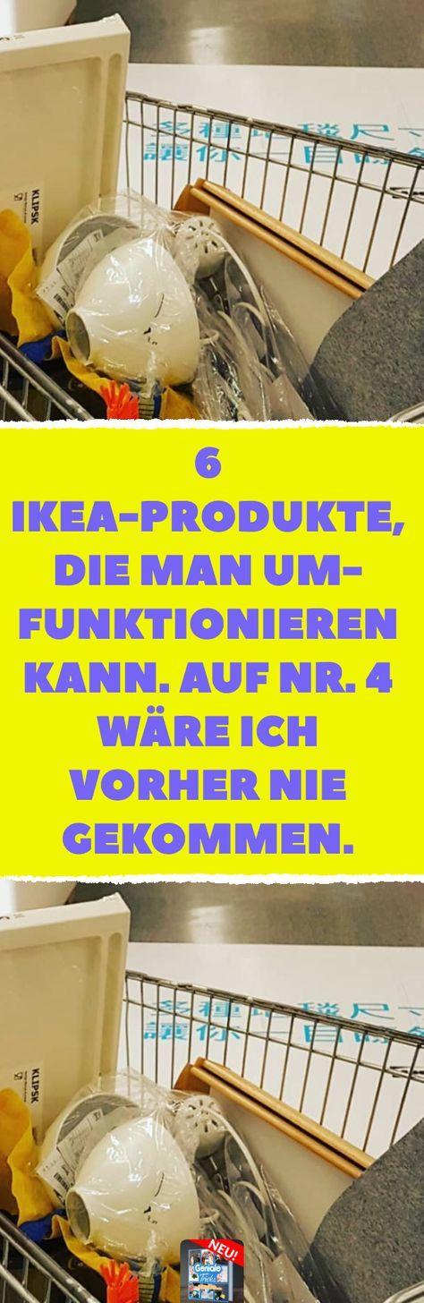 6 Ikea-Produkte, die man umfunktionieren kann. Auf Nr. 4 wäre ich vorher nie ge…