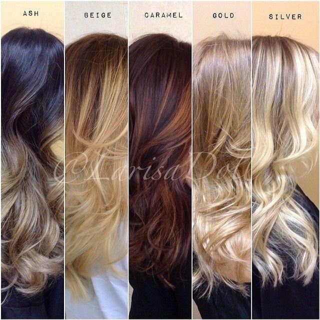 Découvrez cette série de 25 modèles de balayage cheveux tendance Automne/Hiver…
