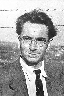 Viktor Frankl. Austrian psychiatrist and Holocaust survivor, writer on the human condition, born on March 26, 1905.