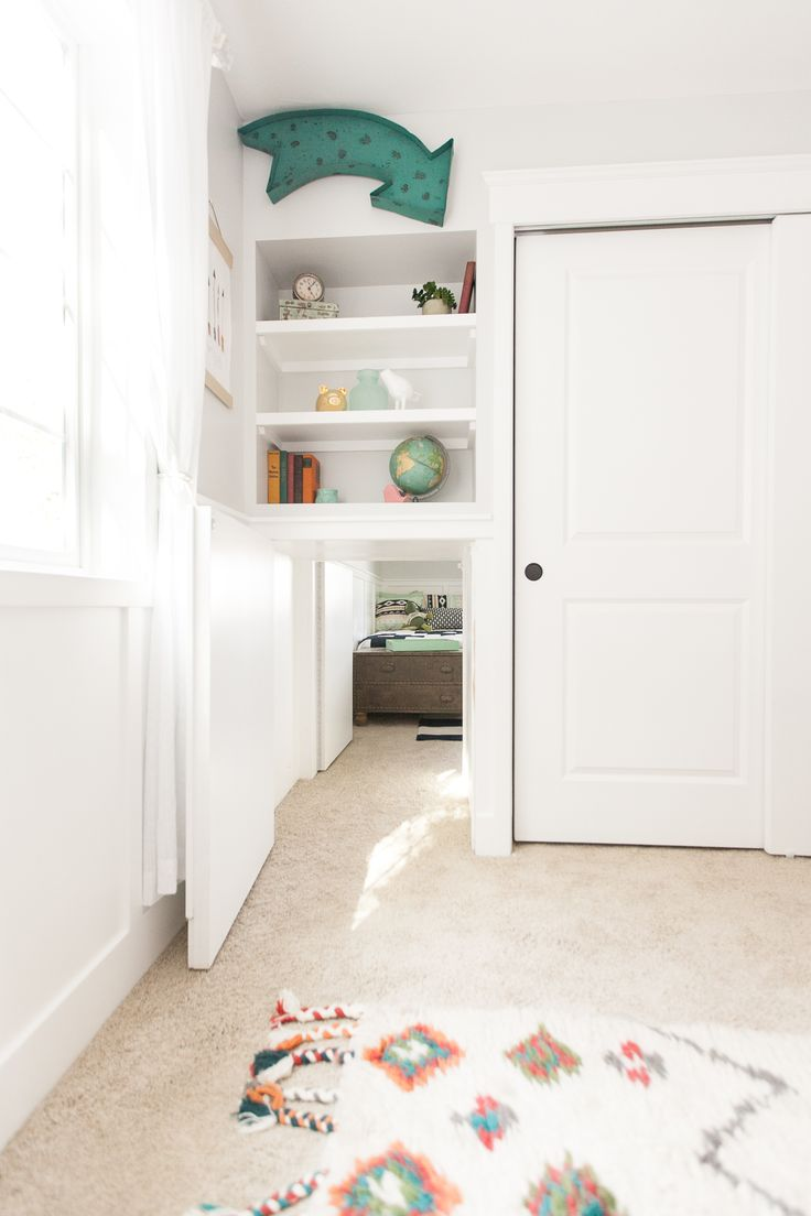 Secret tunnel from girl 39 s room leading to adjacent boy 39 s Secret spaces hgtv