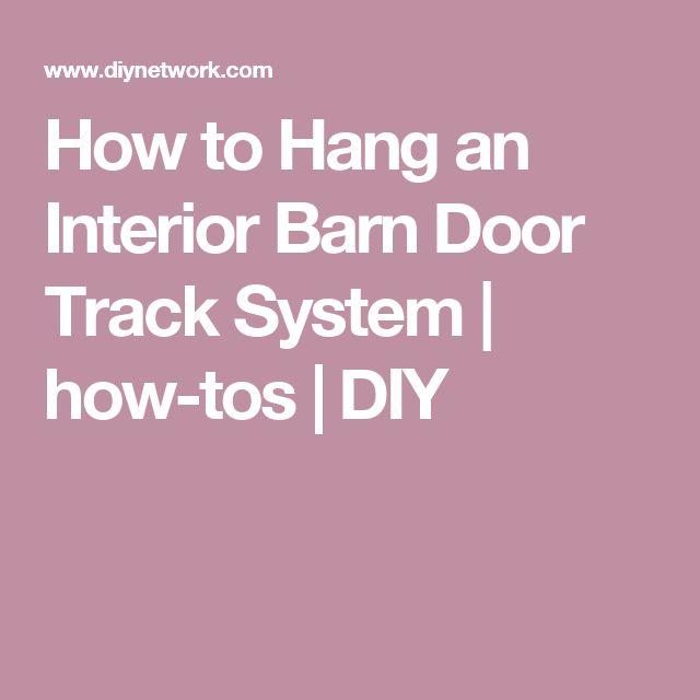 Best 10+ Barn door track system ideas on Pinterest | Screen door hardware Sliding barn door track and Diy door instalation