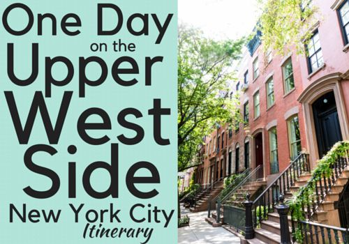 History, culture, great food, and nature - all things you will find in the UWS. Follow this guide for the perfect day in the Upper West Side of NYC.