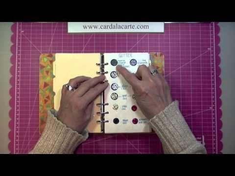 Arts & Crafts Supplies Inventory Binder
