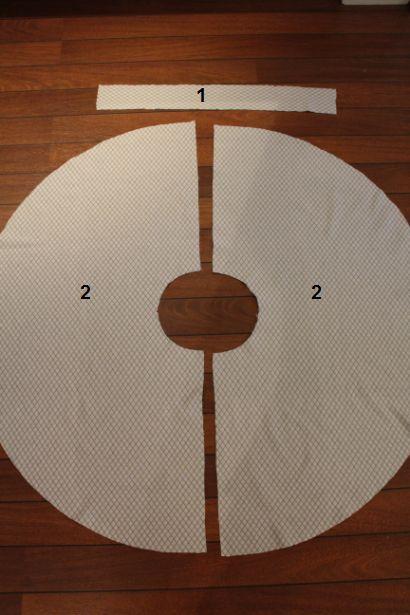 MØNSTERSTOFF & STILSom dere ser over har mønsteret to forskjellige mønster til skjørt. Under vil ...
