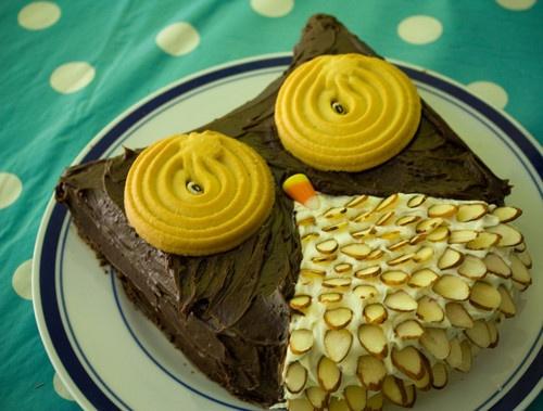 owl cake, amazing