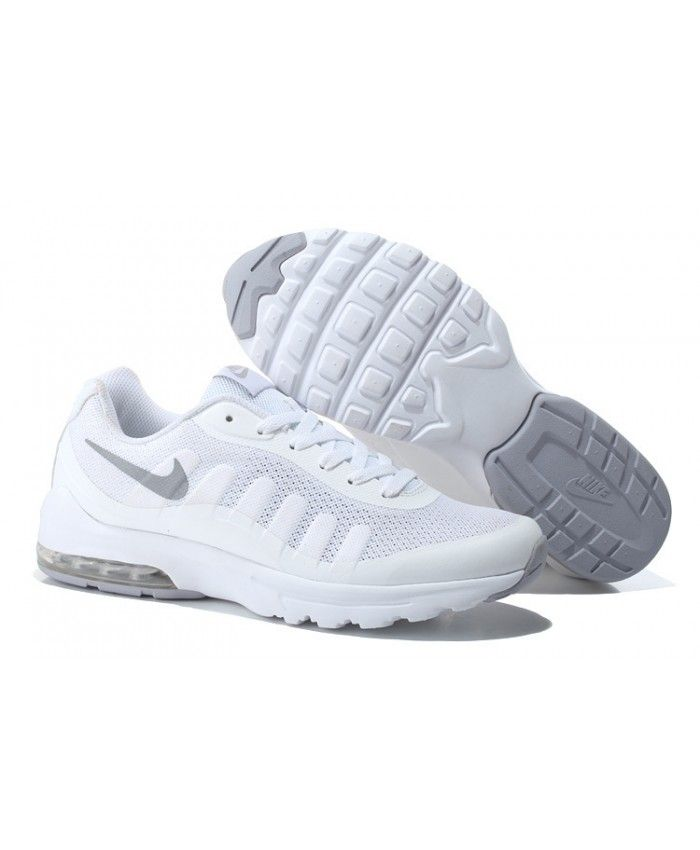 sale retailer ca559 b0fb0 ... Femme Nike Air Max 95 Invigor Print Sliver Blanc Chaussures ...