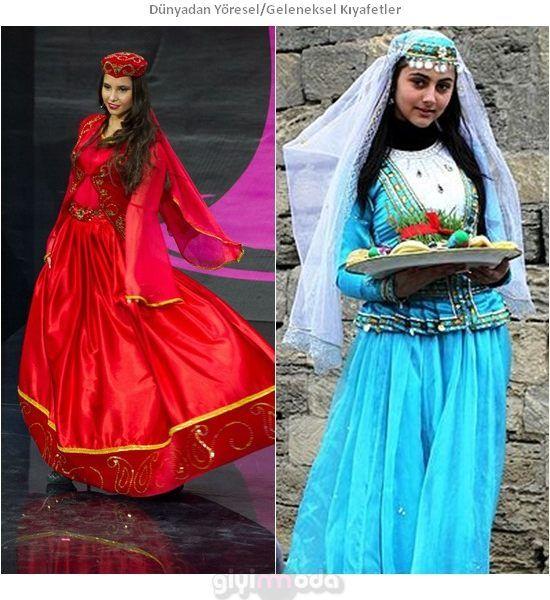 Azerbaycan Geleneksel Kıyafetleri