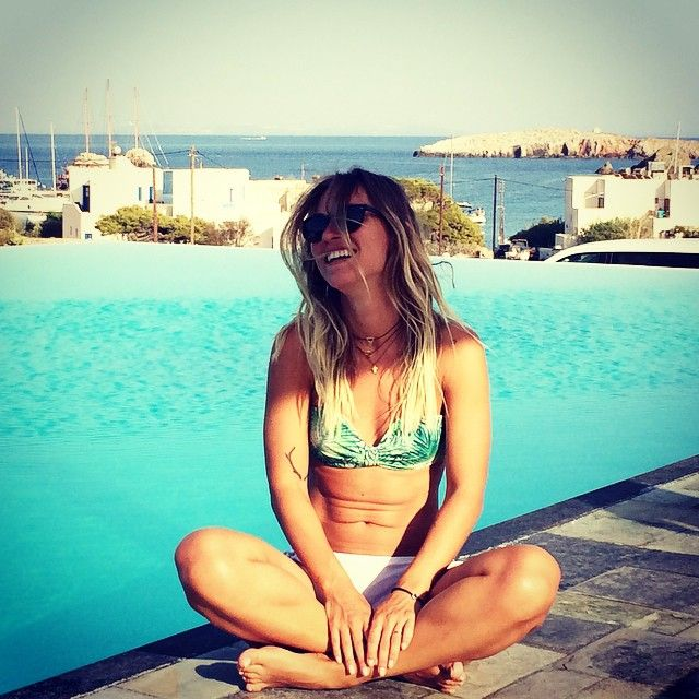 Lazy day by the pool..! Photo credits:: @sorinafredholm