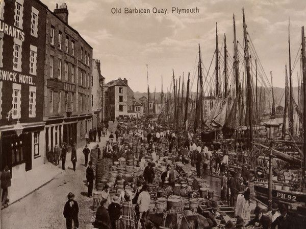 Plymouth Barbican 20 - OLD PHOTOS OF PLYMOUTH DEVON