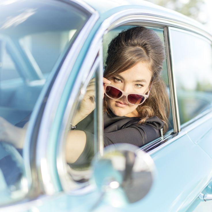 Abby Tunic Black Photo: Nanna Hänninen Make up&Hair: Satu Arvo Model: Ninja Sarasalo