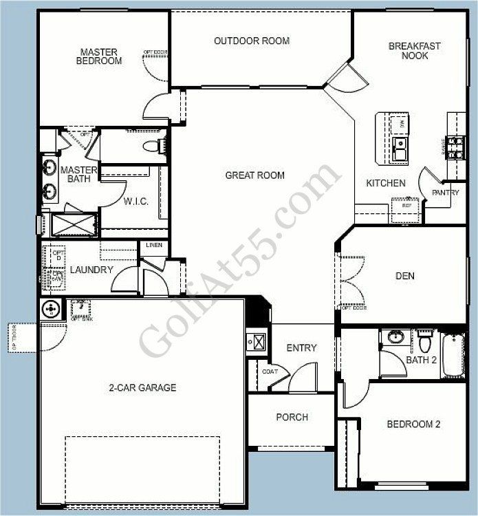 Province Maricopa Az Floor Plans Models Golfat55 Floor Plans House Floor Plans House Plans