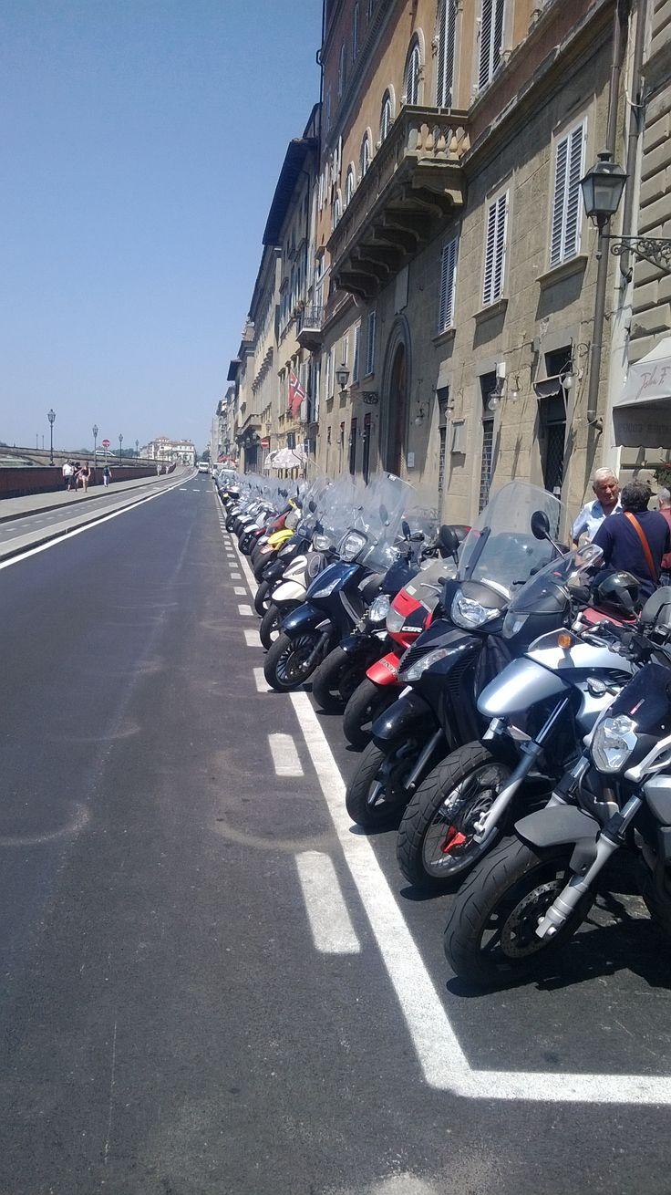 Main mode of transport, Firenze.