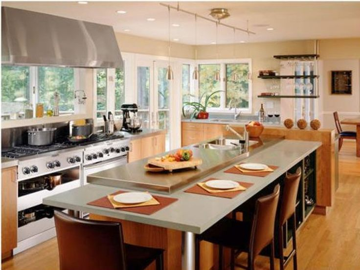 Galley Kitchen With Island Designs 46 best kitchen images on pinterest | kitchen islands, modern
