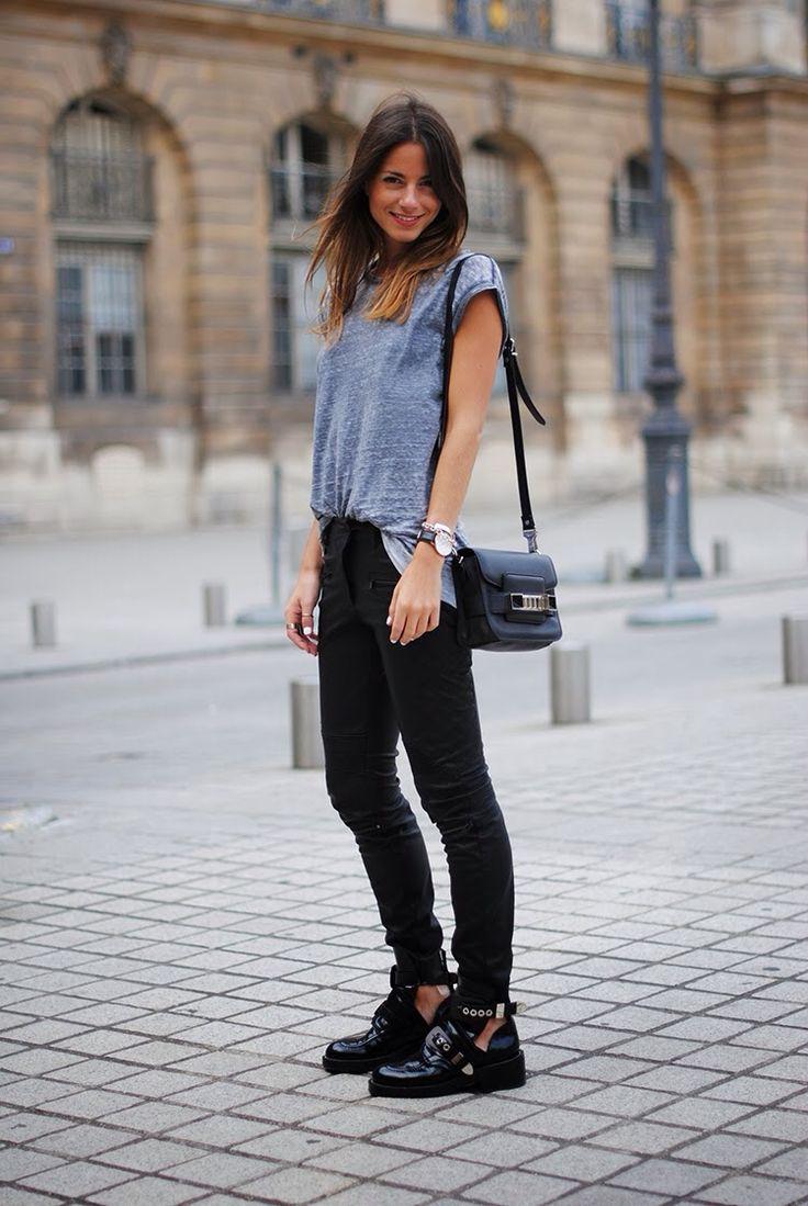 We need those #Balenciaga booties. Now. #streetstyle
