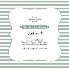 Finish Lines - Free Printable Retirement & Farewell Party Invitation Template | Greetings Island