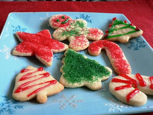 Weight Watchers 1 pt sugar cookies - Christmas gift idea! Replace Neufchatel cheese with cream cheese in AU