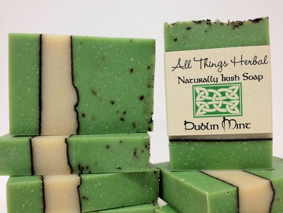 Hey, I found this really awesome Etsy listing at https://www.etsy.com/listing/93726045/irish-soap-dublin-mint-celebrate-all