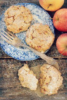 Cinnamon Apple Cookies {grain free, gluten free, refined sugar free, dairy free}