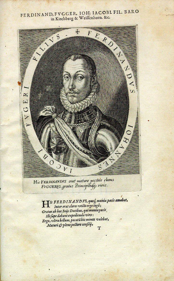 Ferdinand Fugger, Freiherr in Kirchberg und Weißenhorn (1552-1580)