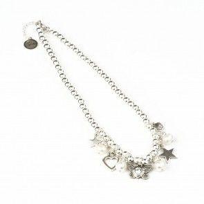 Bibi Bijoux Butterfly charm necklace