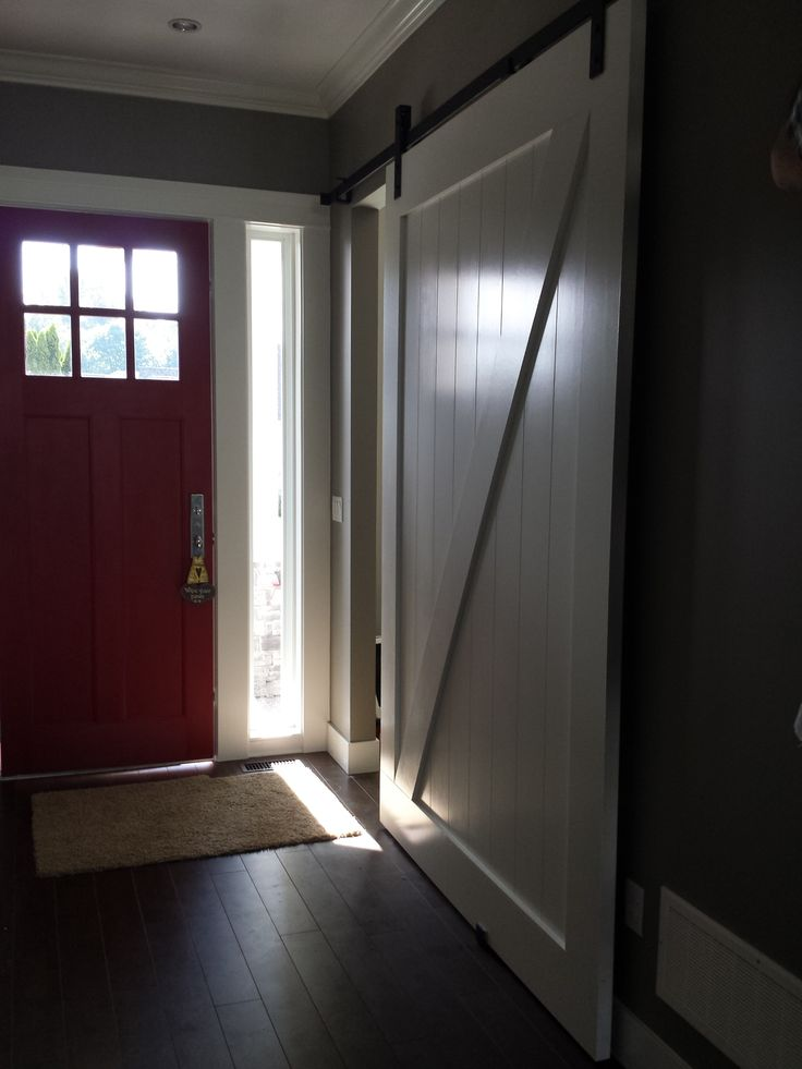 High-Gloss Z Door Handmade by GOATGEAR in Armstrong BC. CANADA & 113 best Interior Sliding Barn Doors images on Pinterest | Interior ...