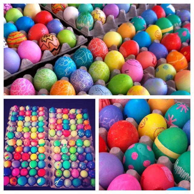 easter eggs 2012