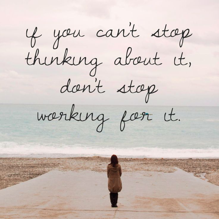 Quotes Thinking About You: 1000+ Ideas About Stop Thinking On Pinterest