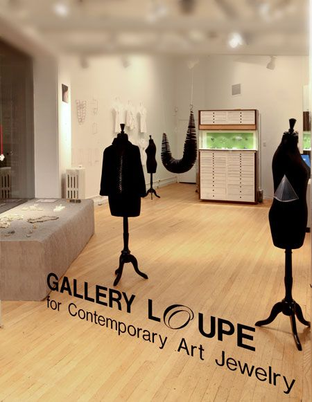 Gallery Loupe Montclair/ New Jersey United States art jewellery gallery