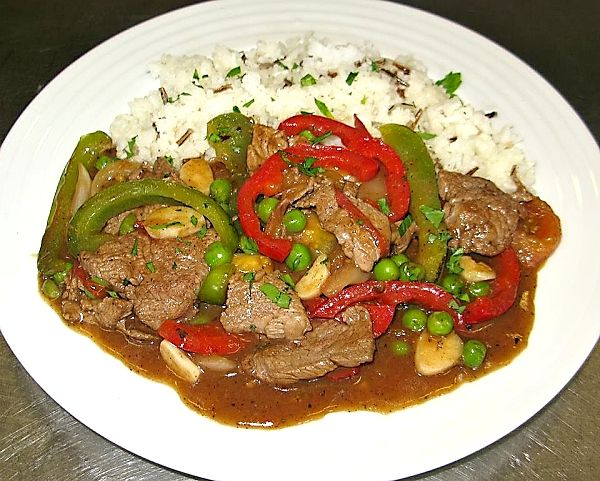 Americký Pepper steak