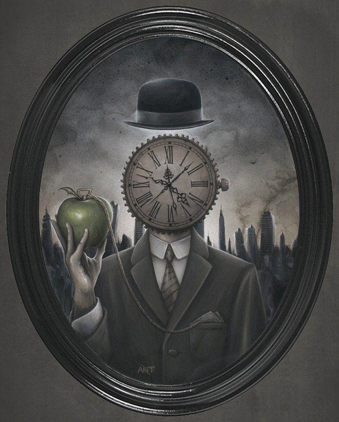 пригороде призрак часовщика картинки придет